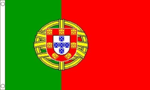 Portugal 3ft x2ft (90cm x 60cm) Flag