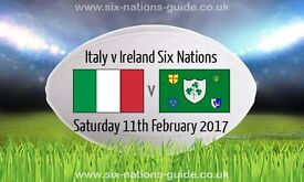 Italy V Ireland 6 Nations Tickets (x2) - In Italy