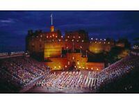 2 Edinburgh Military Tattoo Tickets 25/8/18