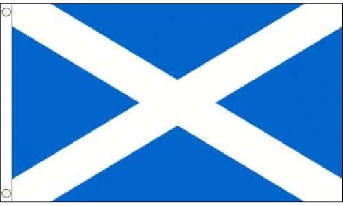 Scotland St Andrews (Light Blue) 8ft x 5ft (240cm x 150cm) Flag