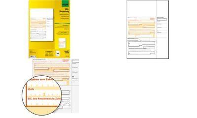 "sigel Bankformular ""PC-SEPA-Überweisung"", DIN A4"