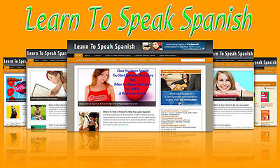 Learn To Speak Spanish Blog Self Updating Website With Clickbank Amazon Adsense