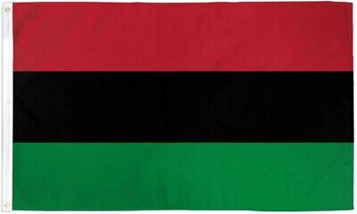 - Red, Black & Green RBG Flag AFRICAN LIBERATION BLACK POWER PAN-AFRICAN FLAG