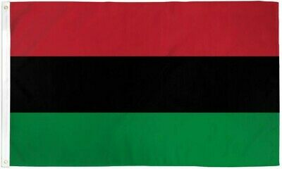 - Red, Black & Green RBG Flag AFRICAN LIBERATION BLACK POWER PAN-AFRICAN FLAG
