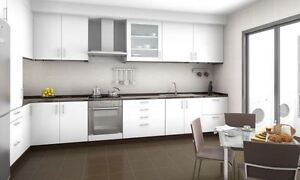 ***13 PCS KITCHEN CABINET FOR SALE - WHITE MELAMINE $1380***