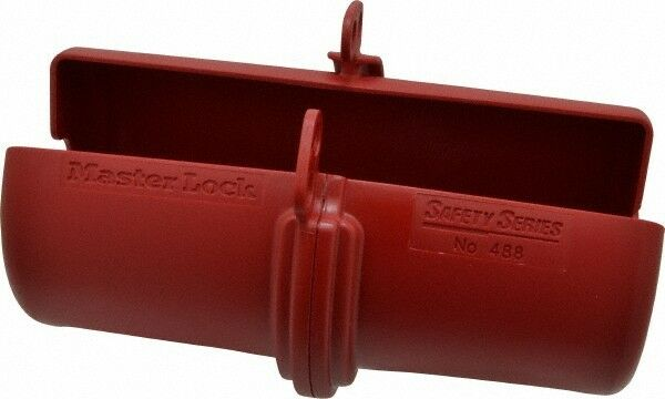 "Master Lock. Plug-Encasing Plug Lockout 3/4"" Max Cord Diam, Zenex Thermoplastic"