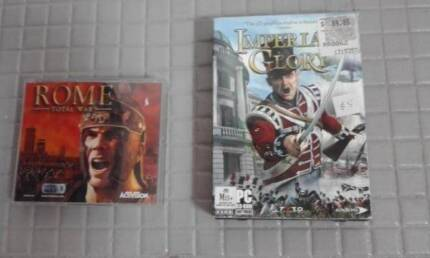 PC CD-ROM GAMES!! ACTIVISION ROME TOTAL WAR