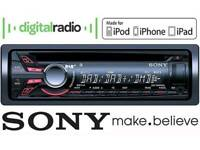 Car Stereo Music System am fm Dab Radio with Usb Aux Inputs