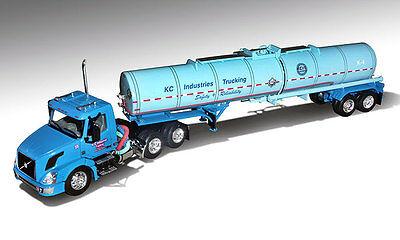 DCP KCI Trucking Volvo VNL 300, Brenner Chemical Tanker, 1/64, New (2013) FS