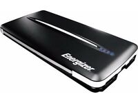 Energizer 5000mAh Portable Charger Black Dual USB Outputs