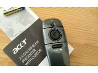 Acer 2.4GHz wireless presenter with cursor