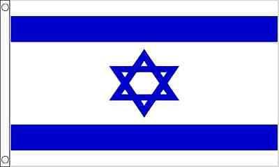 Israel 5ft x3ft (150cm x 90cm) 100% Polyester Flag