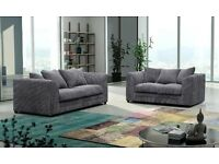 JET BRAND NEW DYLAN 2 SEATER ONLY JUMBO CORD FABRIC // SAME DAY EXPRESS DELIVER Y ALL OVER LONDON //
