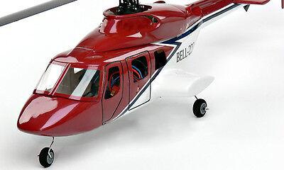 (E-Sky Bell 222 Scale cabin for Belt CP, EK4-0061)