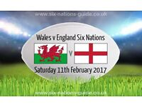 Wales v England Rugby Tickets - X 2