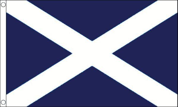Écosse Rigide Porte 100% Nylon Drapeau 5ft x 3ft (150cm x 90cm)