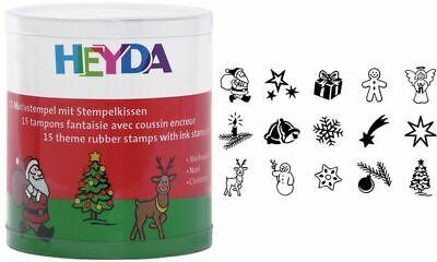 HEYDA Motivstempel Set