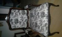 queen anne style occasional chair
