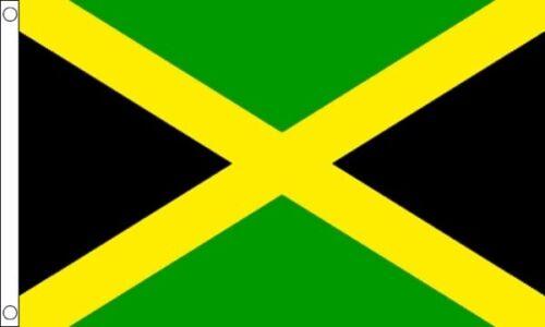 Jamaica 5ft x3ft (150cm x 90cm) 100% Polyester Flag