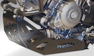ENGINE GUARD HEED SUZUKI V-STROM DL 650 (04-16) black, steel plate no crash bars - <span itemprop=availableAtOrFrom>Czestochowa, Polska</span> - Zwroty są przyjmowane - Czestochowa, Polska