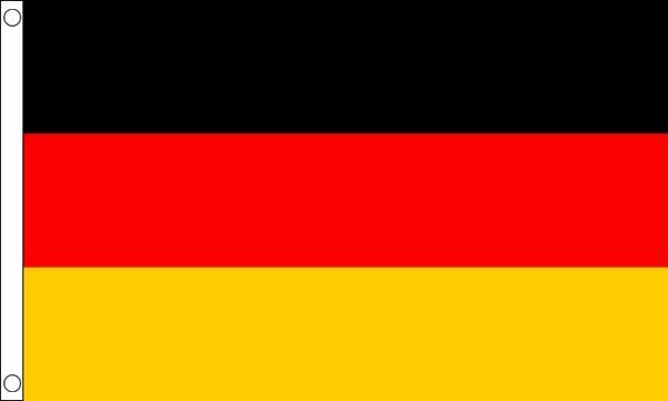 Germany Hard Wearing 100% Nylon Flag 5ft x 3ft (150cm x 90cm)