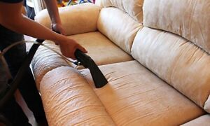 Cleaning carpets and furniture