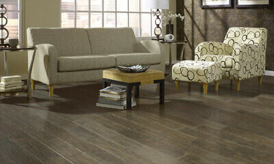 Hickory Handscraped Sterling Grey Engineered Hardwood Floori