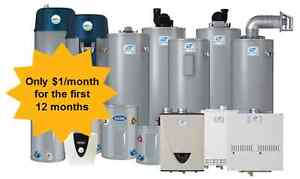 Rental Hot Water Heaters ($1/Month for 12 Months) Cambridge Kitchener Area image 1