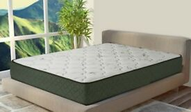 Nearly new double bed memory foam mattress