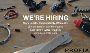 Cycle Profix: Hiring Bike Mechanics Downtown-West End Greater Vancouver Area image 1