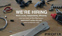 Cycle Profix: Hiring Bike Mechanics (Vancouver Island)