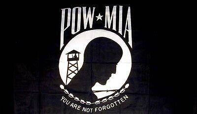 POW MIA FLAG military novelty flag  2 X 3