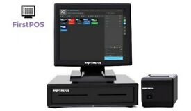 BRAND NEW Touchscreen EPOS POS Cash Register Till System for Retail and Hospitality Businesses