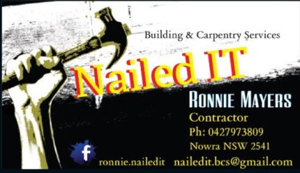 NailedIT Building & Carpentry services  Nowra Nowra-Bomaderry Preview