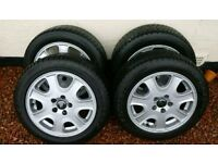 "Volvo 16"" Metis V70 S60 Alloy Wheels with Winter Tyres"