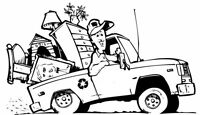 Haul away your junk / Move your stuff / Delivery
