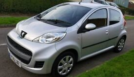 Peugeot 107 2010/10 plate 1.0 urban 5dr like a aygo or c1