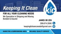 Keeping It Clean-Cleaning Services(Office,Commercial,Residental)