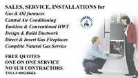 Gas Fitter Complete HVAC Service