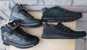 boots Timberland Size US 9 ½ men's shoes sneaker Adidas Boost