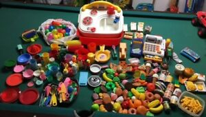 toys - kitchen sink, dishes & food