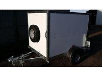 Tickners ECo Box Trailer (6' x 4' x 4') in White