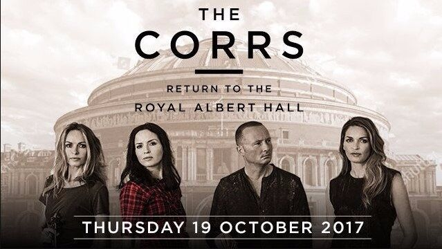 2 The Corrs tickets - 19 October - Royal Albert Hall