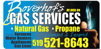 Ntural gas & Propane, Furnaces, Water Heaters, BBQ, and more