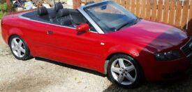 Audi a4 cabriolet 1.8T 160 bhp