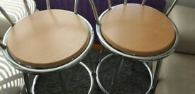 Pair of bar stools Excellent Condition