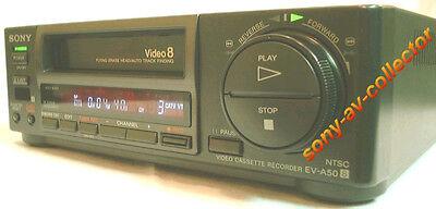Sony EV-A50 Video8 8mm Video 8 Player Recorder VCR Deck EX   EV-C3