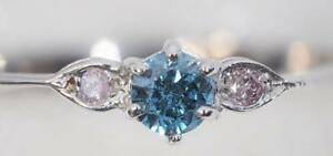 14K White Gold Ring with Diamonds - $200