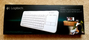 Brand new: Logitech Wireless Touch Keyboard