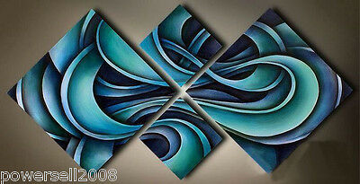 1.4m Abstract Modern Art Canvas New Handmade ...
